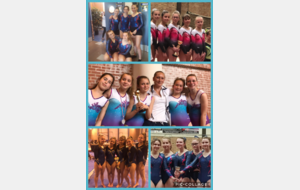 Excellente prestation de nos gymnastes ce Weekend